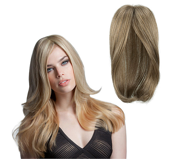 Luxhair How By Tabatha Coffey Long Top Head Extension Page 1 Qvc