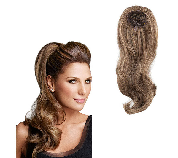Luxhair Wow By Daisy Fuentes 22 Pony Fall Extension Page 1 Qvc
