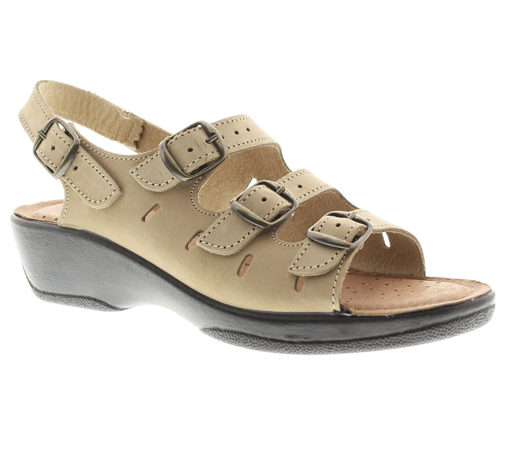 Flexus by Spring Step Willa Leather Slingback Sandals