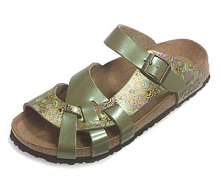 fe9fb1a09cc4 Birkenstock Asian Print Curved Strap Comfort Sandals. product thumbnail. In  Stock