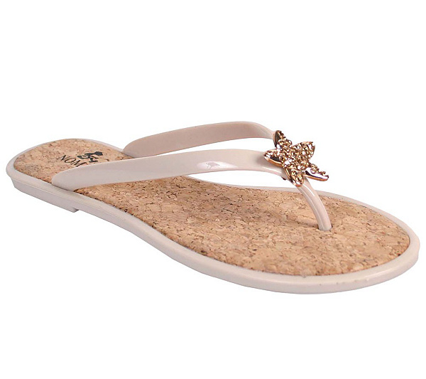face6d75ca8e1 Nomad Jeweled Flip-flop Sandals - Stardust. product thumbnail. In Stock