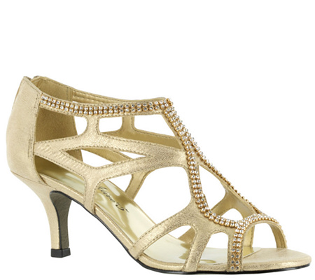 Easy Street Strappy Evening Sandals - Flattery discount outlet wVc4Xd8Jbq