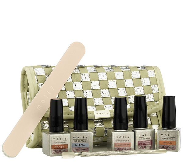 Mally Spring into Nails 7-pc Collection with Bag — QVC.com