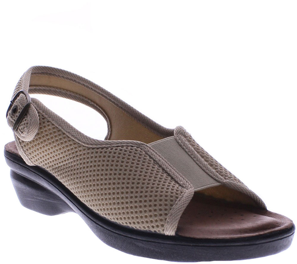 Flexus by Spring Step Wedge Sandals - Fabrizia