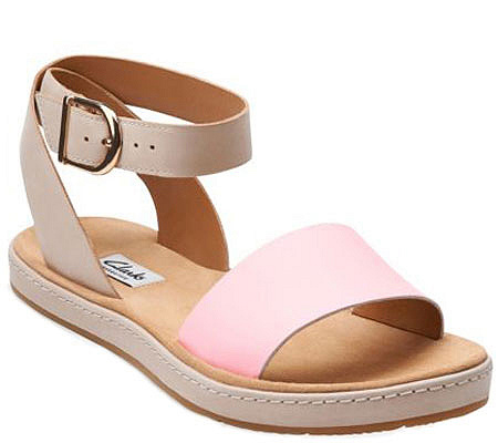 075006d0f83ba Clarks Narrative Leather Sandals - Romantic Moon. product thumbnail. In  Stock