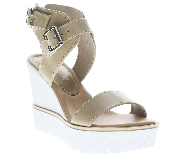 sale online shop cheap 2014 Azura by Spring Step Leather Wedge Sandals - Leticia order cheap price free shipping explore for cheap online YpO6Kt0Bv