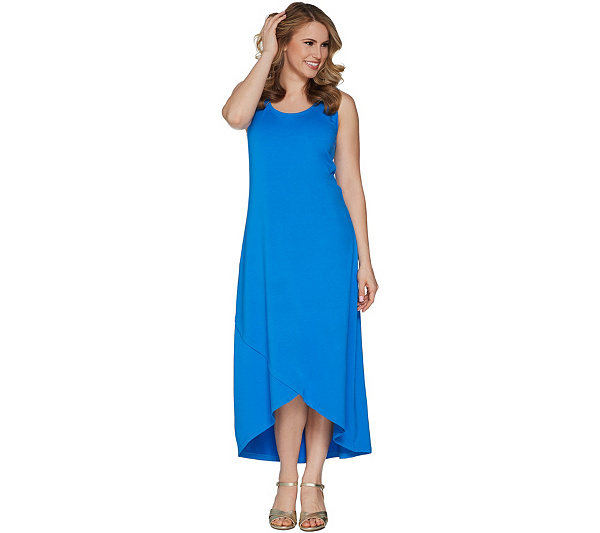 eefca1552ce ... Isaac Mizrahi Live! Regular Hi-Low Tulip Hem Knit Dress. product  thumbnail. In Stock