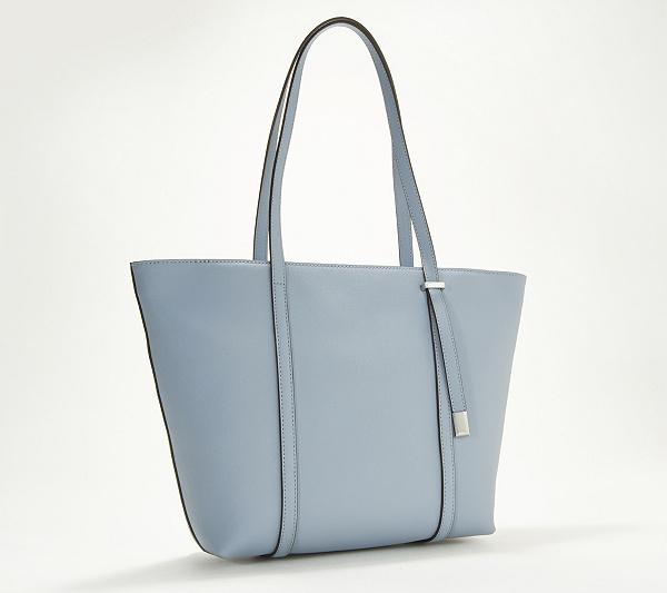 ea0c15621f Vince Camuto Top-Zip Saffiano Leather Tote Bag - Didi - Page 1 ...