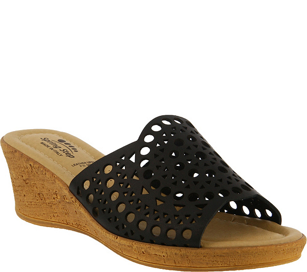 Spring Step Leather Wedge Sandals - Martha clearance 2014 new discount affordable clearance online official site discount brand new unisex 7B4TA5e