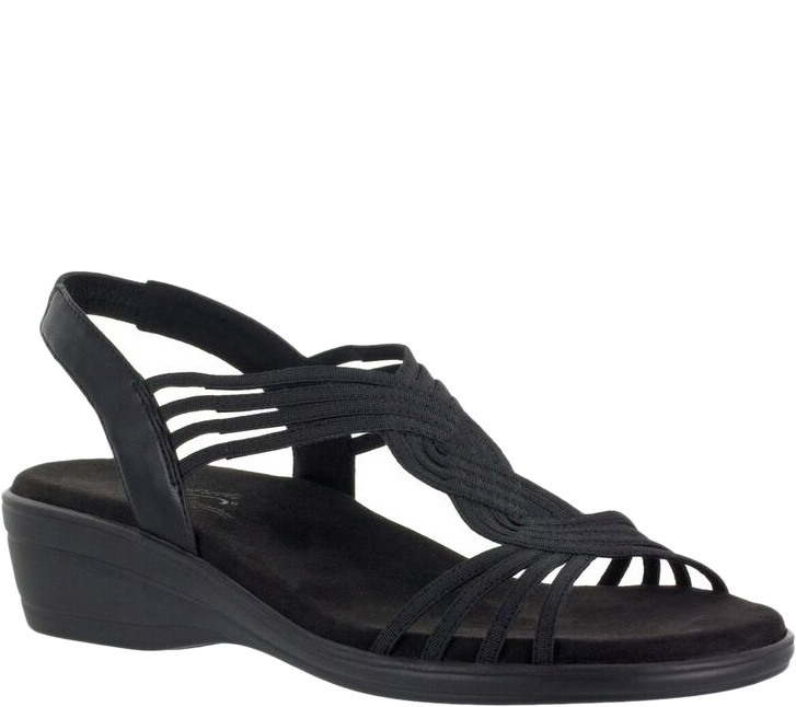 Easy Street Low Wedge Sandals - Natara