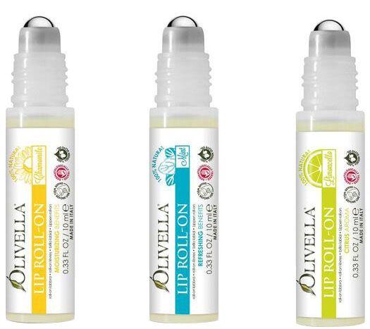 Olivella Lip Roll-On, Mint 0.33 oz (Pack of 2) EOS