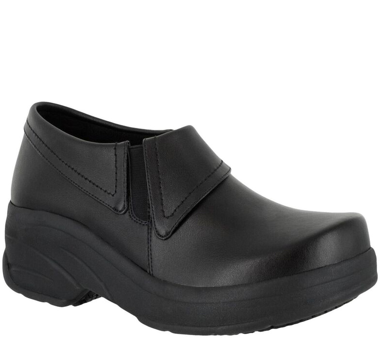 Easy Works by Easy Street Slip-on Work Shoes -Attend