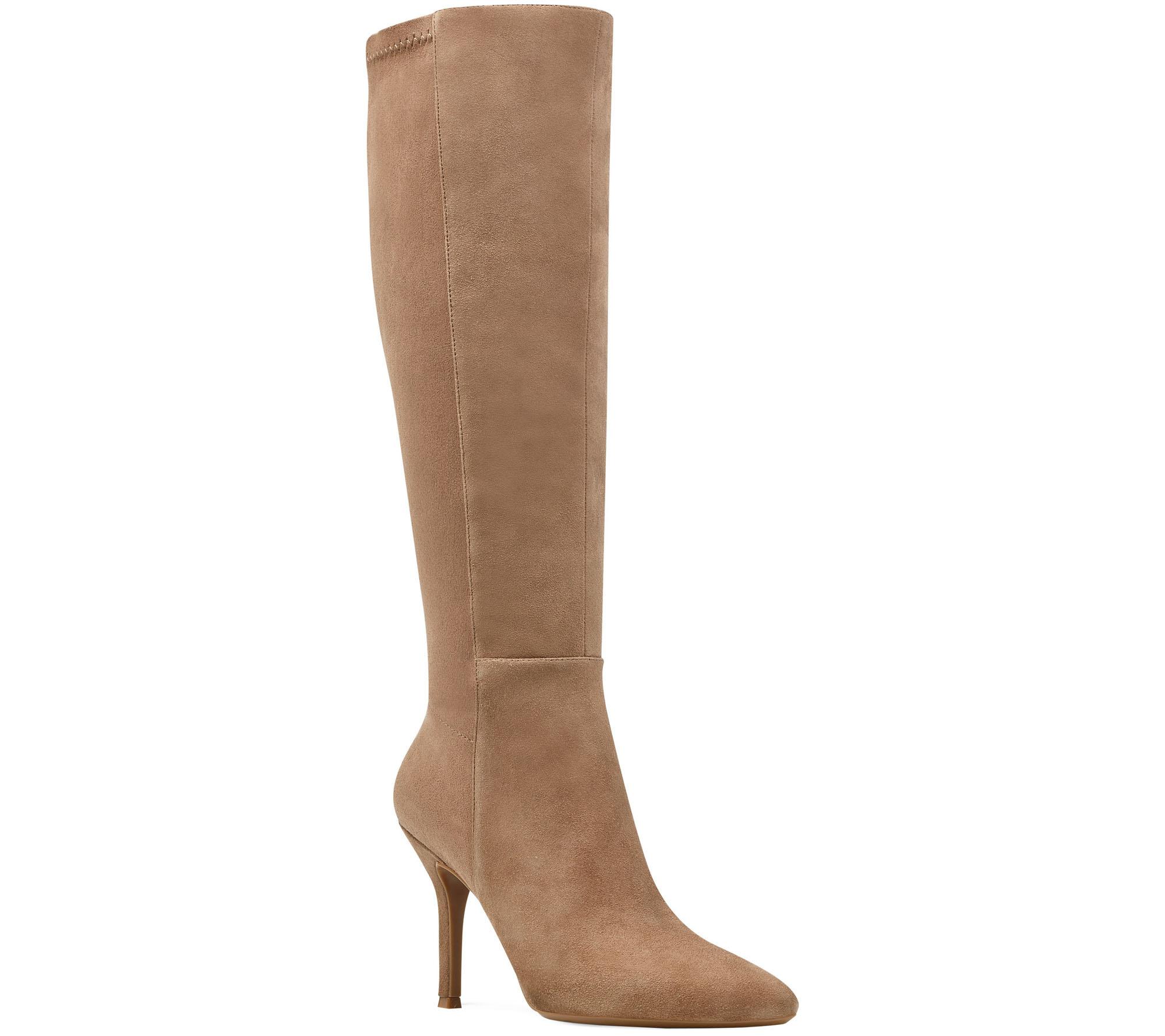 Nine West Fallon Tall Boot(Women's) -Black/Black Suede