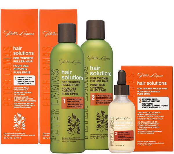 Peter Lamas Hair Solutions Thickening Kit withScalp Serum - Page 1 ...