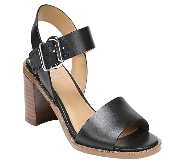 Havana Block Heel Sandals QW5IXS