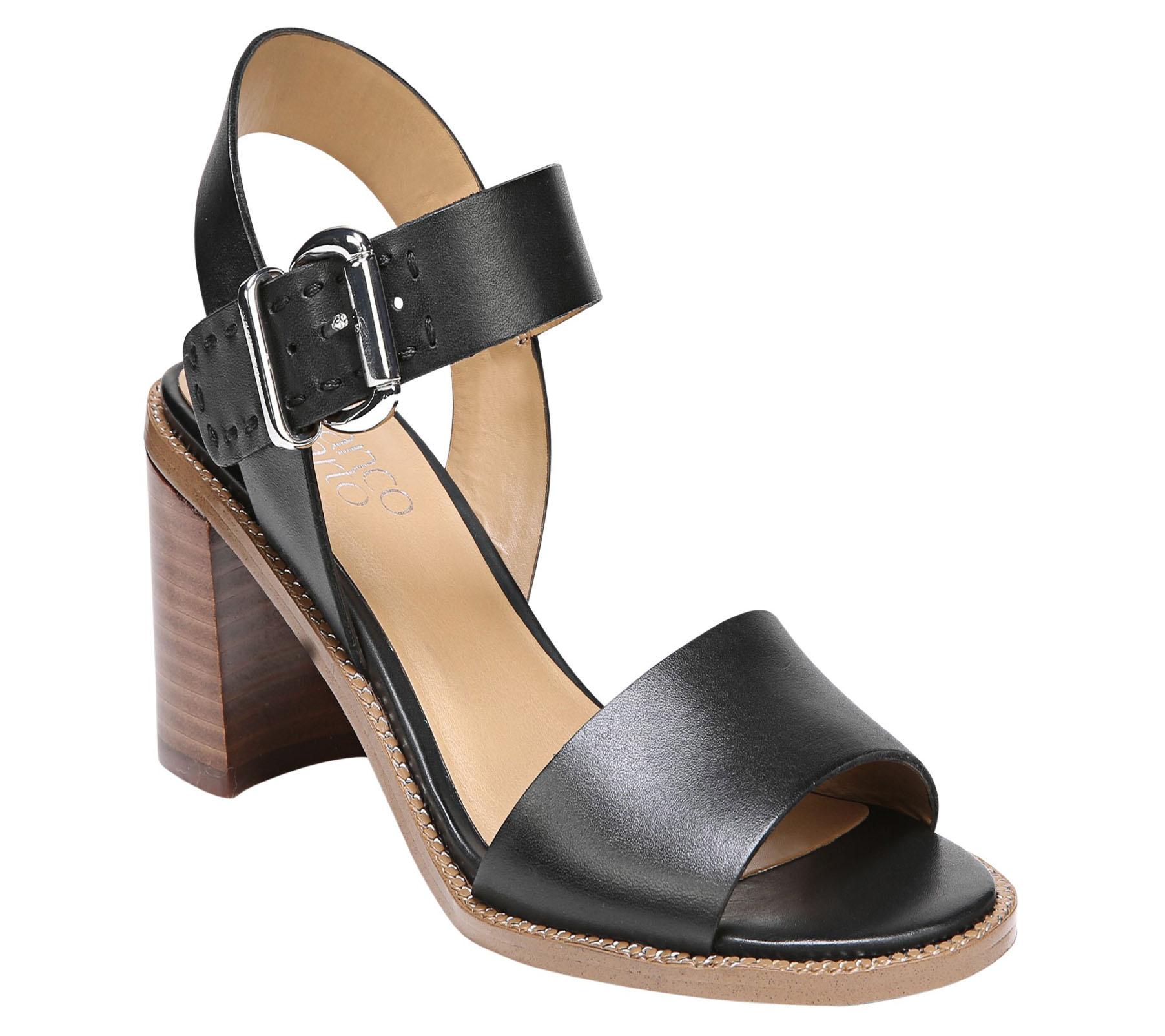 Havana Block Heel Sandals