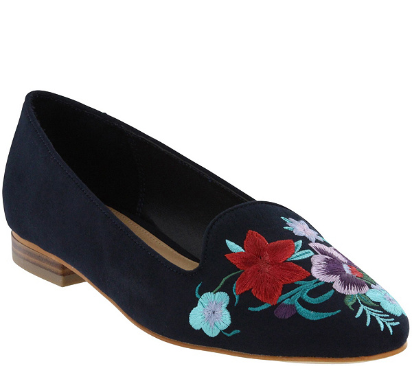 professional sale online MIA Shoes Embroidered Loafers - Zeke clearance top quality cheap sale best store to get many kinds of cheap price rNlzBt0i