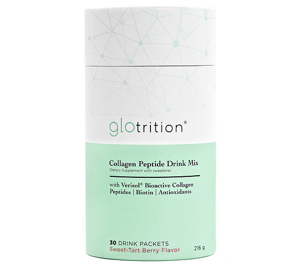 Glotrition Collagen Peptide Drink Mix, 30 Packets — QVC.com