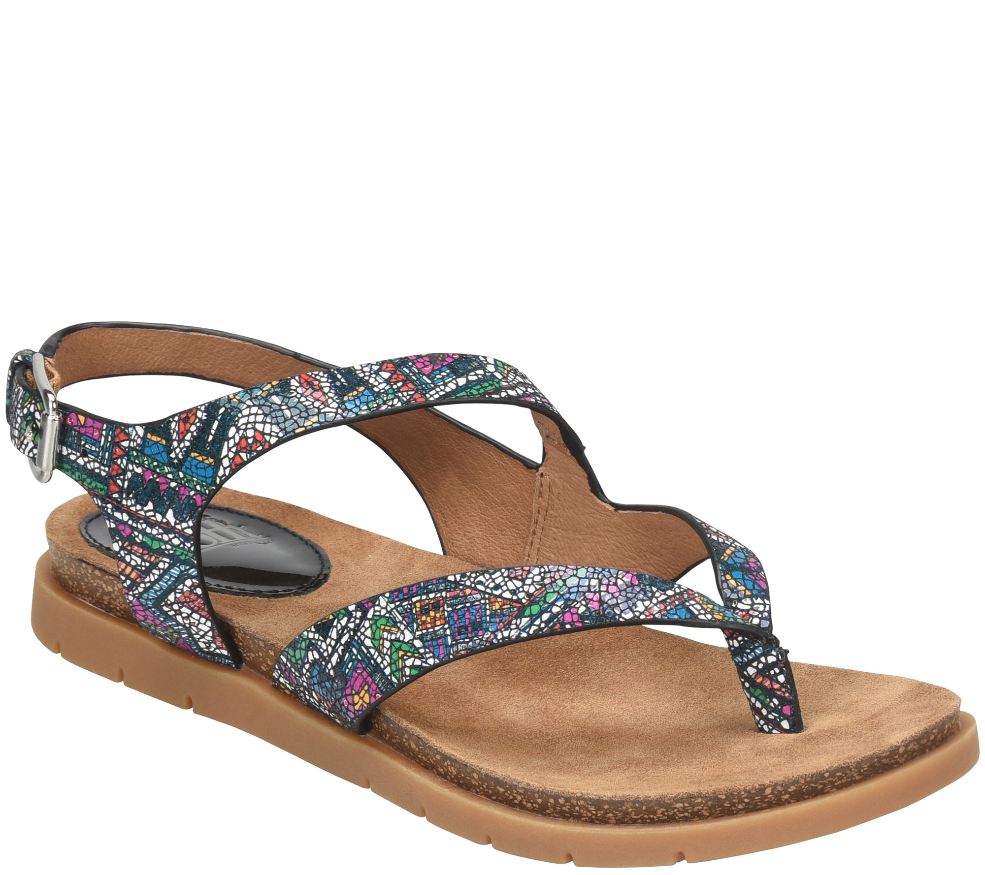 Rory Patent Leather Thong Sandals