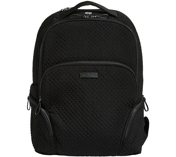 38ecfd31a9 Vera Bradley Microfiber Iconic Backpack - Page 1 — QVC.com