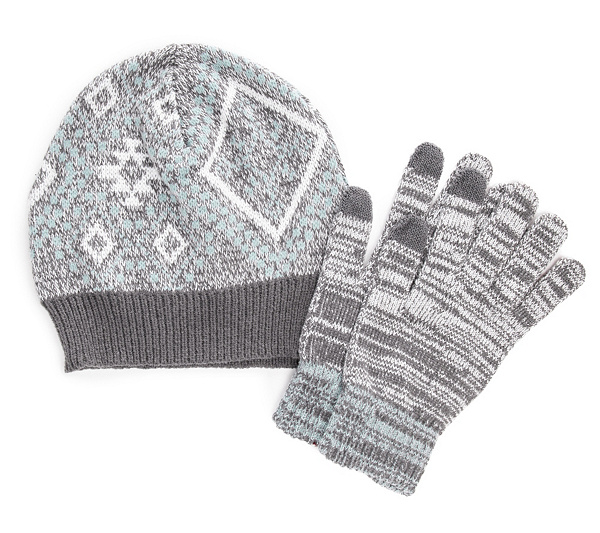 Muk Luks Women's Beanie And Glove Set by Muk Luks