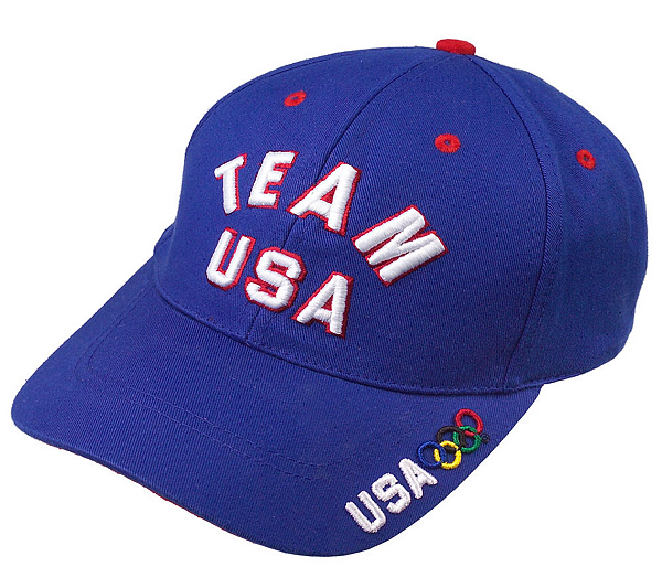 Team Usa Puff Embroidery Olympic Cap Qvc