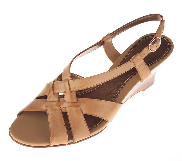 b96c6429187 Naturalizer Leather Multi Cross Band Sandals with Backstrap - Page 1 ...