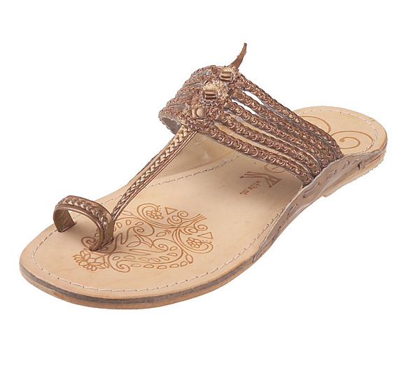 7fbf8493225924 White Mountain Braided Leather Toe Loop Thong Sandals — QVC.com