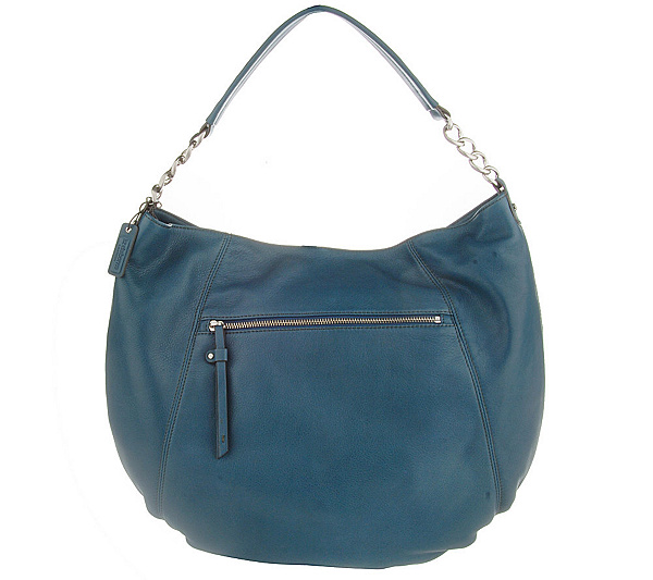 cde636cd2a Liz Claiborne Broadway Soft Leather Hobo Bag - Page 1 — QVC.com