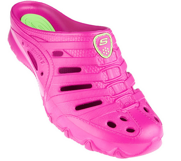 Skechers Cali Gear Sport Clogs with Logo. product thumbnail. In Stock 69ffaa496281
