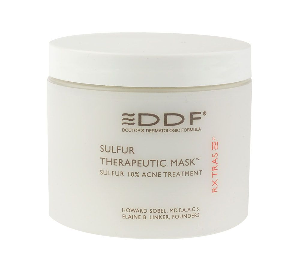 ddf sulfur therapeutic mask, 4 oz. 1% Retinol Cream - 1.7 oz. by AllVia (pack of 4)