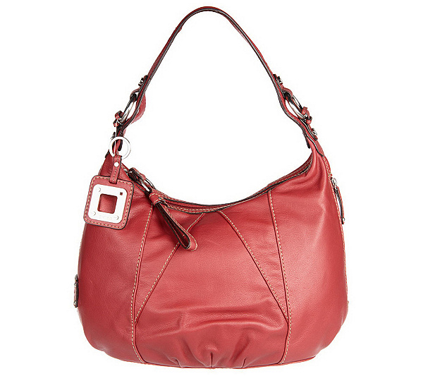 5ccad6bb7b Tignanello Glove Leather Single Strap Zip Top Hobo Bag. product thumbnail.  In Stock