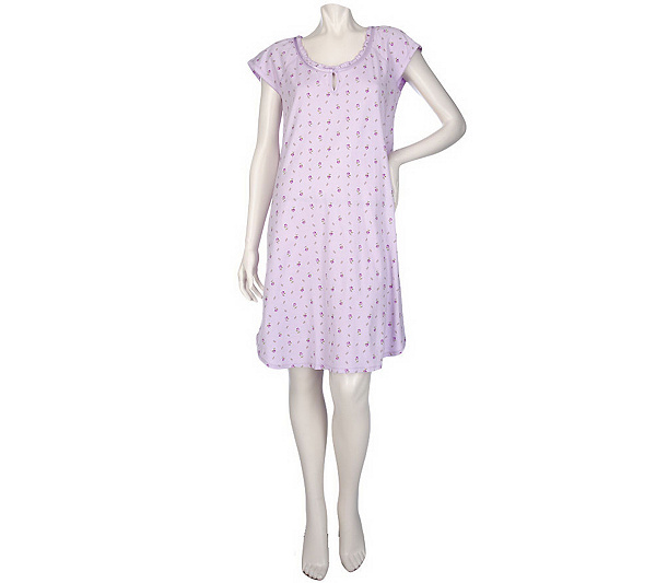 Carole Hochman Wendy Rose Jersey Knit Sleep Shirt. product thumbnail. In  Stock 93ae78901