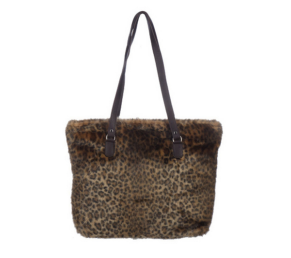 1c5099782abc Fabulous Faux Fur Tote Bag by Donna Salyer. product thumbnail. In Stock