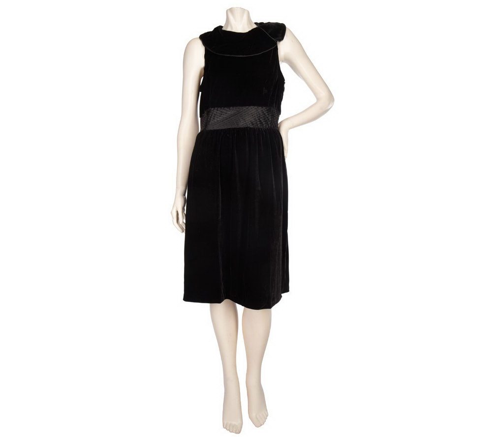 Elisabeth Hasselbeck For Dialogue Stretch Velvet Dress Page 1