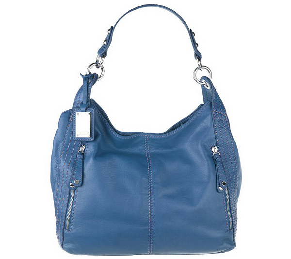 a5960ef612 Tignanello Glove Leather Slouchy Hobo Bag with Stitch Detail. product  thumbnail. In Stock