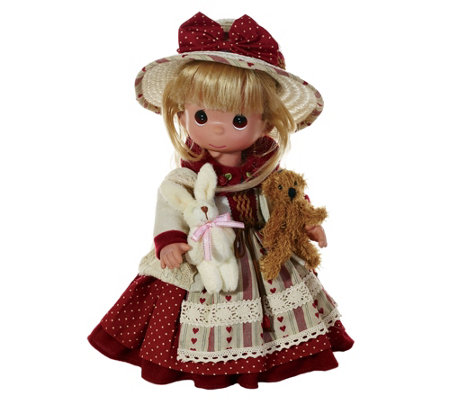 "12"" Precious Moments An Old-Fashioned Love Doll"