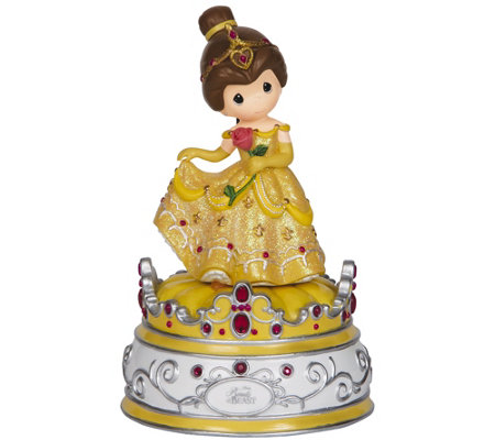 Precious Moments Disney Beauty and the Beast Music Box