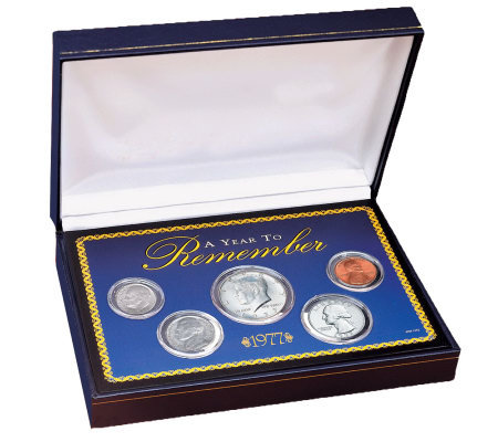 Year to Remember 1965-2017 Commemorative Coin Set