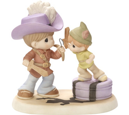 "Disney ""Never Grow Up"" Figurine by Precious Moments"