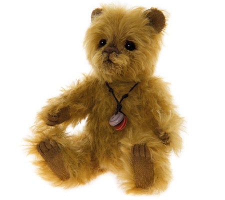 "Charlie Bears Collectible 6.5"" Butterball Minimo Bear"