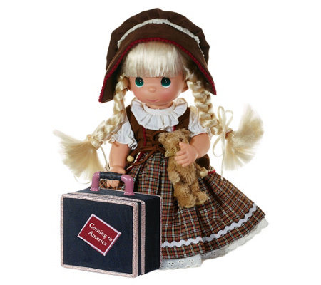 "12"" Precious Moments Coming to America GermanyDoll"