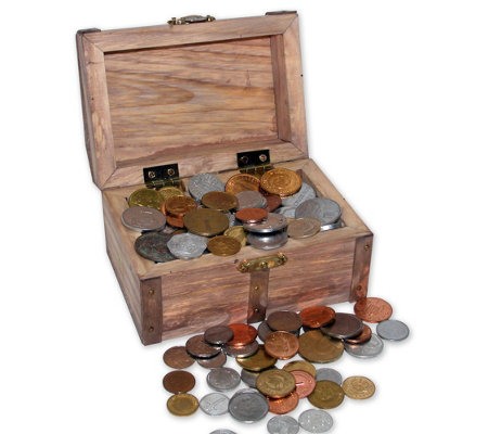 American Coin Treasures Chest 100 Coins From Around The World