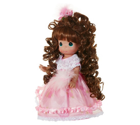 "12"" Precious Moments Curly Locks Doll"