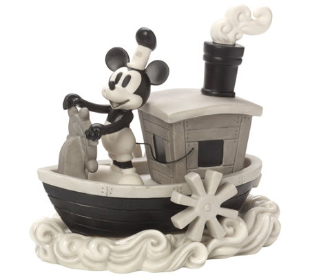 Precious Moments Disney Mickey Mouse SteamboatWilli Figure
