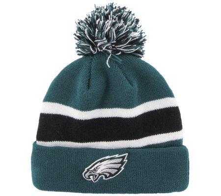 187990439 NFL Breakaway Beanie Hat with Pom - Page 1 — QVC.com
