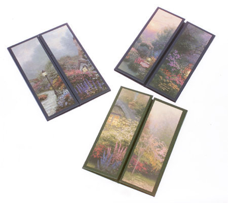 Set of 3 Portfolio Photo Frames by Thomas Kinkade — QVC.com