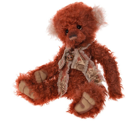 "Charlie Bears Collectible 19"" Dreamkeeper Mohair Bear"