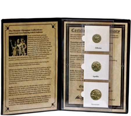 The Mount Olympus Collection Ancient Greek Coins