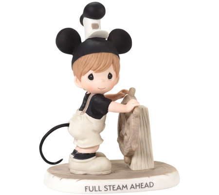 """Full Steam Ahead"" Steamboat Willie Figure by Precious Moments"